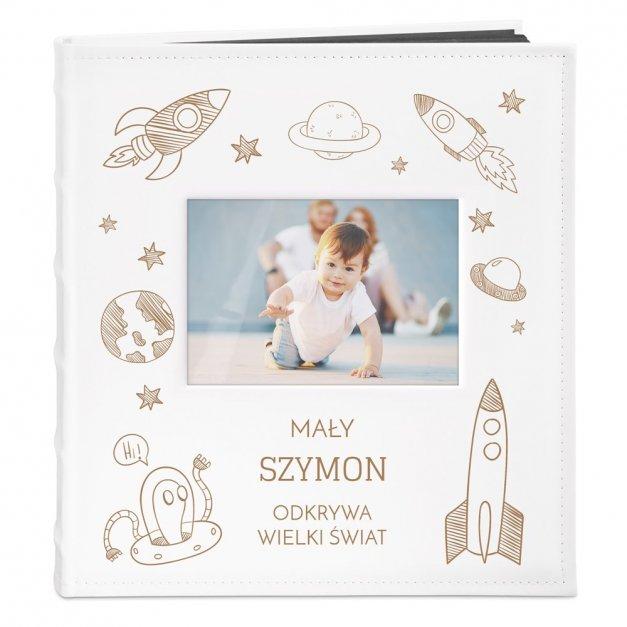 Album z Okienkiem dla Rodziców Dziecka na Roczek Odkrywanie Świata