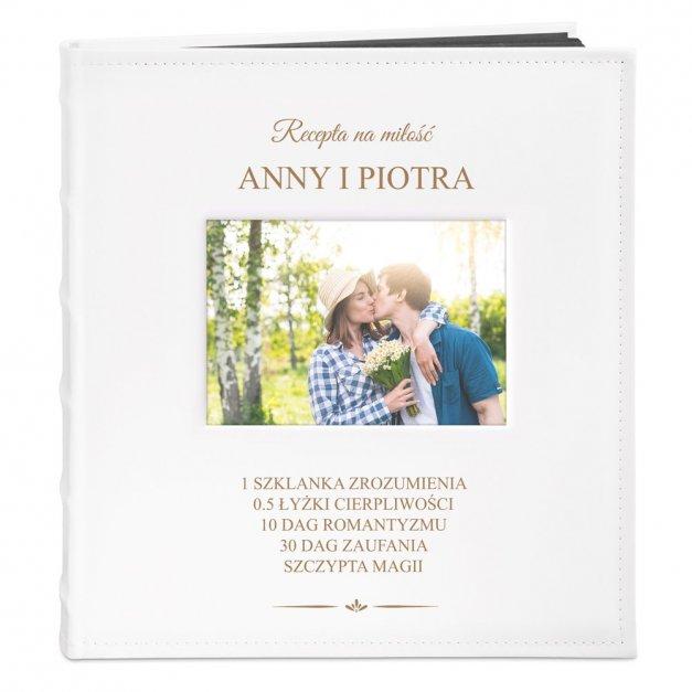 Album z Okienkiem Prezent na Ślub dla Małżeństwa Grawerowany