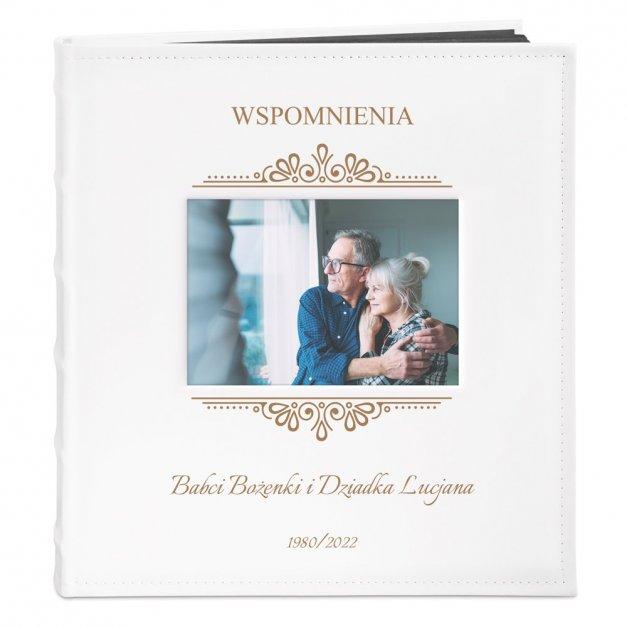 Album z Okienkiem Prezent dla Dziadków na Rocznicę Grawer