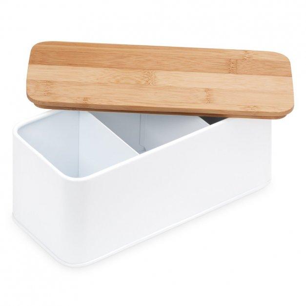 Zestaw Herbat w Metalowym Pudełku Nadruk Dla Dziadków
