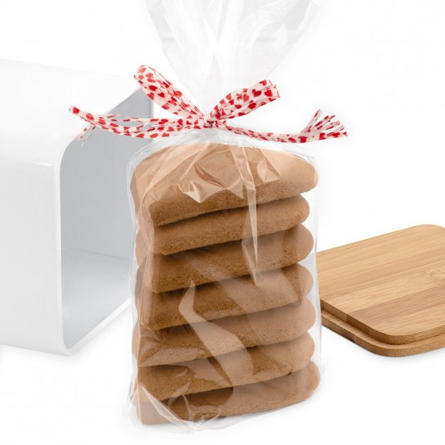 Tradycyjne Pierniki z Torunia w Personalizowanym Pudełku Podziękowanie