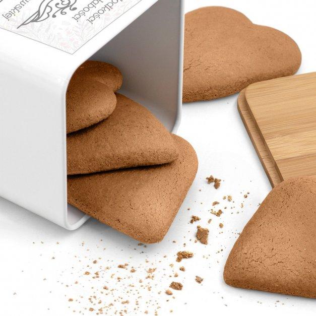 Tradycyjne Pierniki z Torunia w Personalizowanym Pudełku Słodkości Na Słabości