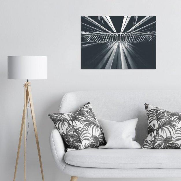 Plakat metalowy metalowe elementy L