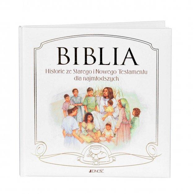 Biblia Dla Najmłodszych Prezent Na Chrzest Z GRAWEREM