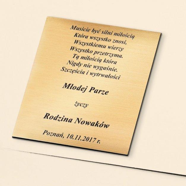 Prezent na ślub album ślubny