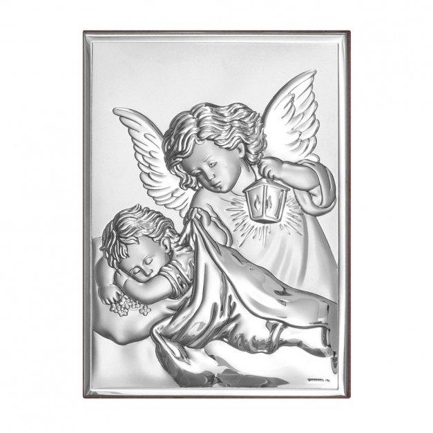 Obrazek Anioł Stróż Prezent Na Chrzciny GRAWER