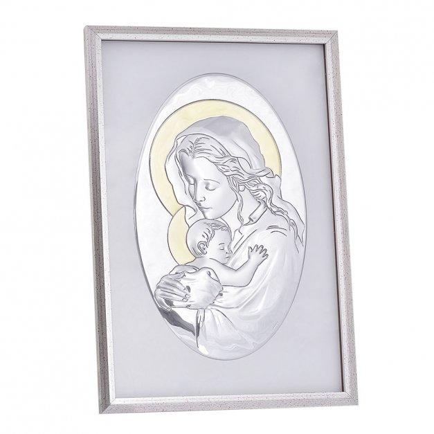 Matka Boska Obraz Prezent Na Chrzest GRAWER