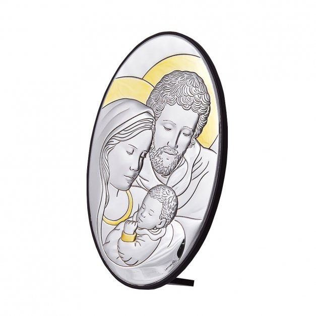 Obrazek Świętej Rodziny Prezent Na Chrzest GRAWER
