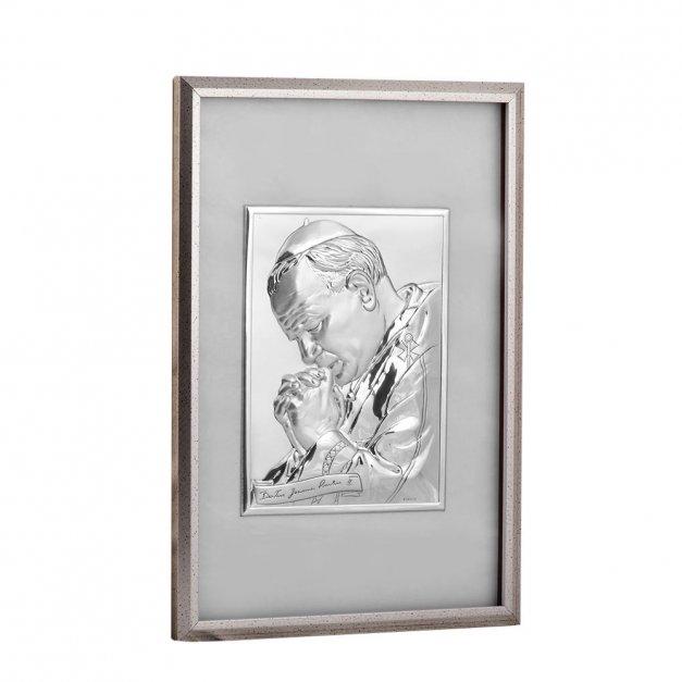 Obrazek Na Komunię Papież Jan Paweł II GRAWER