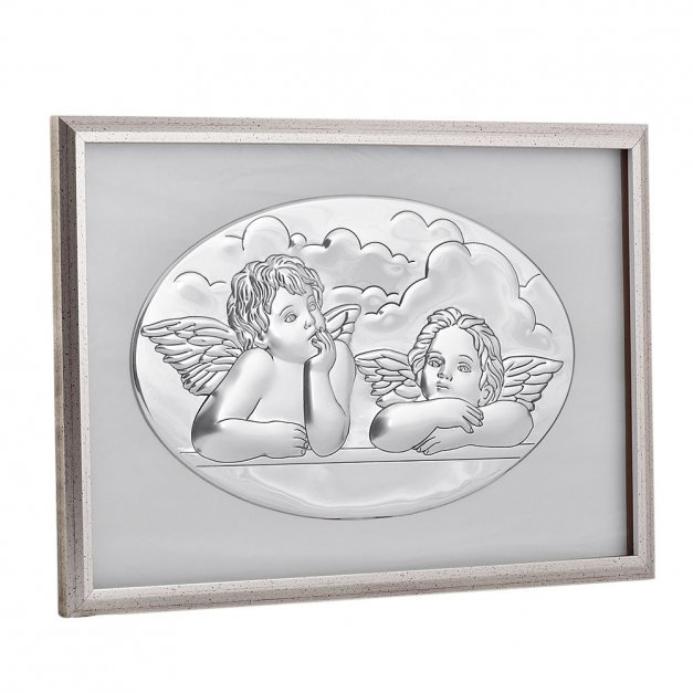 Obraz Aniołki Prezent Na Chrzest GRAWER