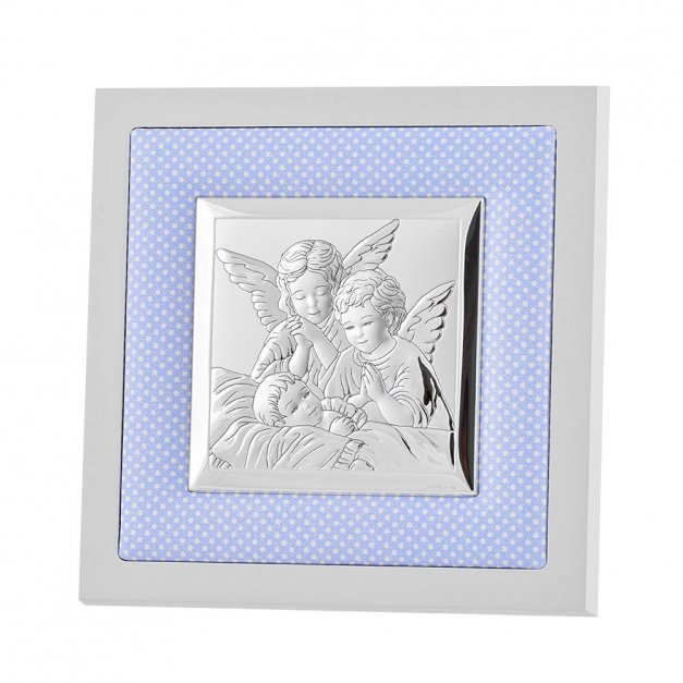 Obrazek Na Chrzciny Anioł Stóż GRAWER