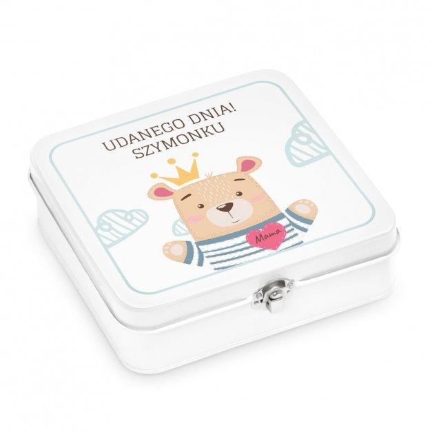 Metalowa Śniadaniówka Lunch Box z Nadrukiem Dla Dziecka