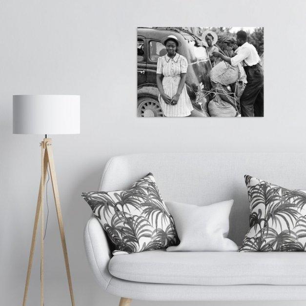 Plakat metalowy rodzina L