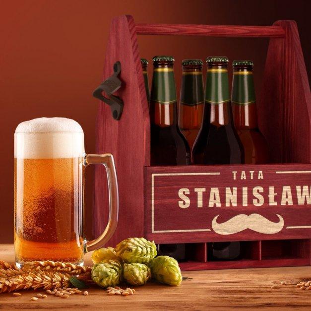 Personalizowane Nosidło Na Piwo Z Otwieraczem Dla Taty