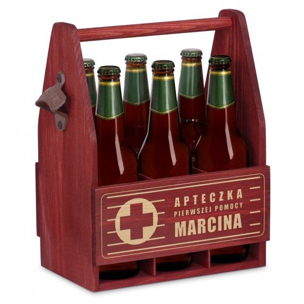 Personalizowane Nosidło Na Piwo Z Otwieraczem Pierwsza Pomoc