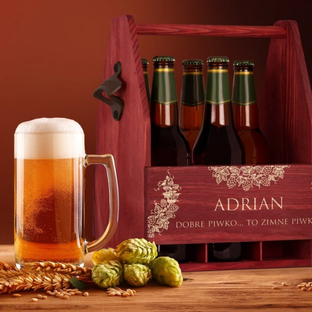 Personalizowane Nosidło Na Piwo Z Otwieraczem Dobre Bo Zimne