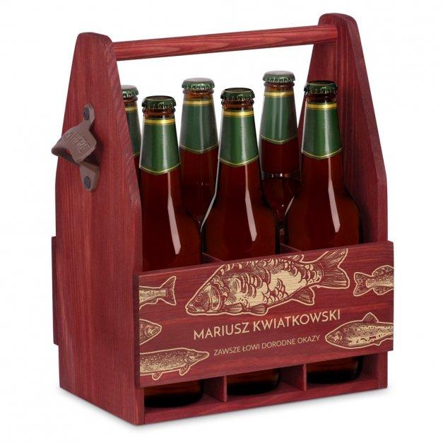 Personalizowane Nosidło Na Piwo Z Otwieraczem Ryby