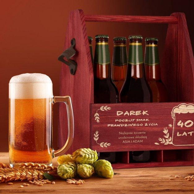 Personalizowane Nosidło Na Piwo Z Otwieraczem Smak Życia