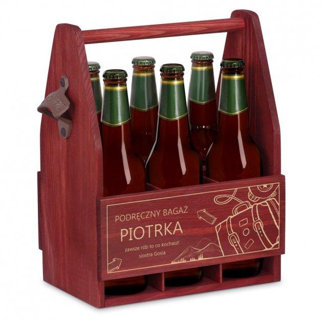 Personalizowane Nosidło Na Piwo Z Otwieraczem Podręczny Bagaż