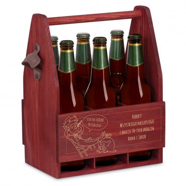 Personalizowane Nosidło Na Piwo Z Otwieraczem Fajrant