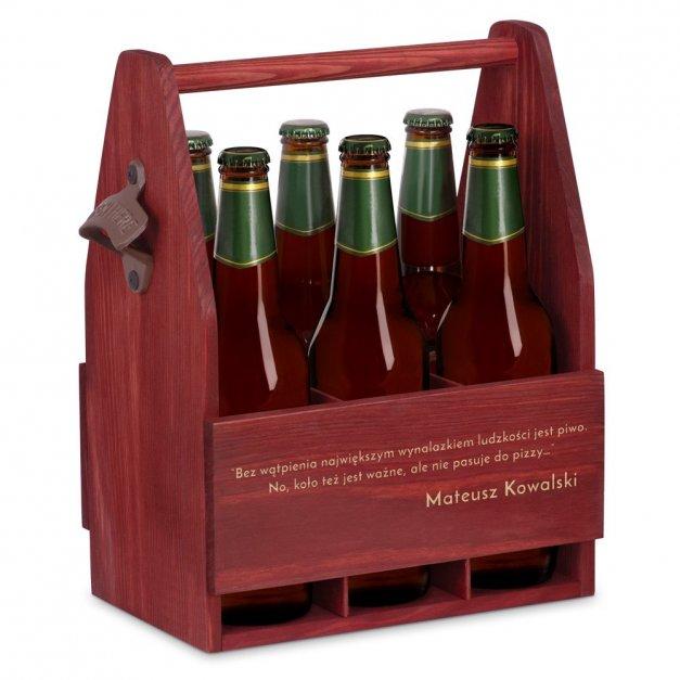 Personalizowane Nosidło Na Piwo Z Otwieraczem Sentencja