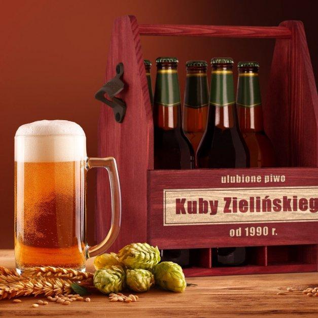 Personalizowane Nosidło Na Piwo Z Otwieraczem Urodzinowe