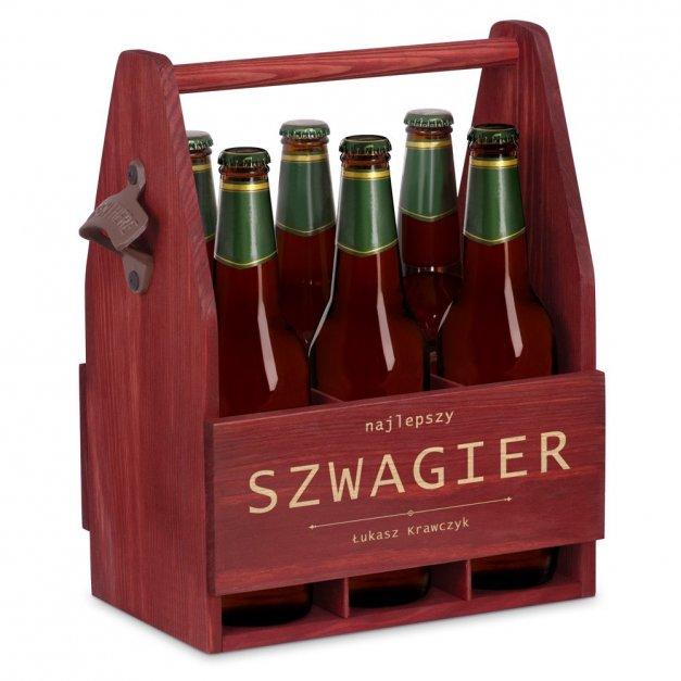Personalizowane Nosidło Na Piwo Z Otwieraczem Dla Szwagra