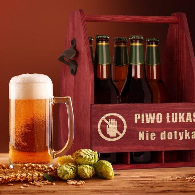 Personalizowane Nosidło Na Piwo Z Otwieraczem Nie Dotykać