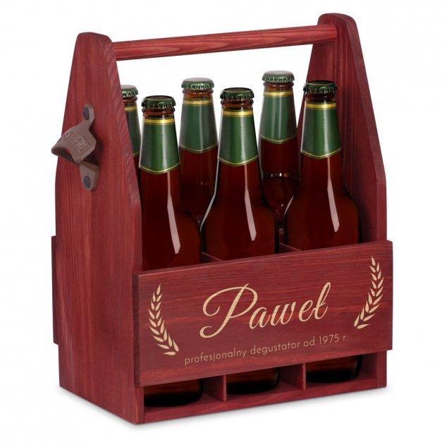 Personalizowane Nosidło Na Piwo Z Otwieraczem Na Urodziny