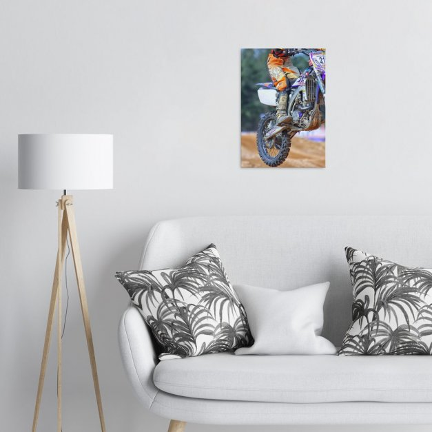 Metalowy plakat do salonu