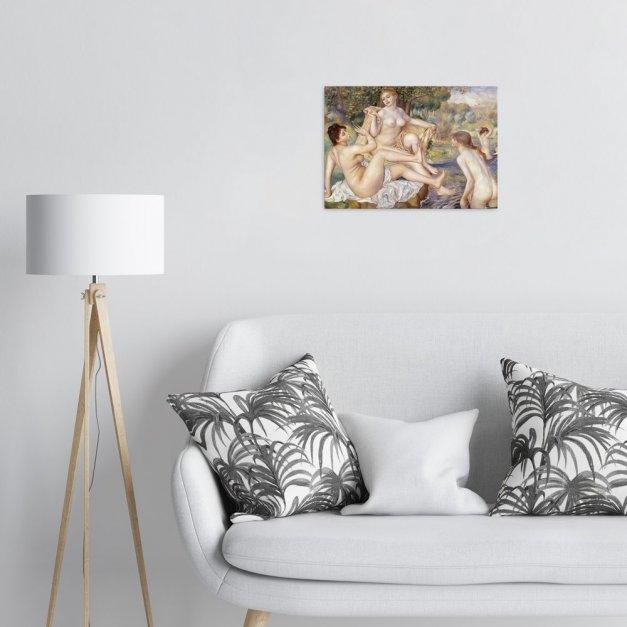 Plakat metalowy Auguste Renoir The Large Bathers M