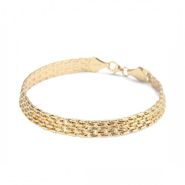 Złota bransoletka na prezent