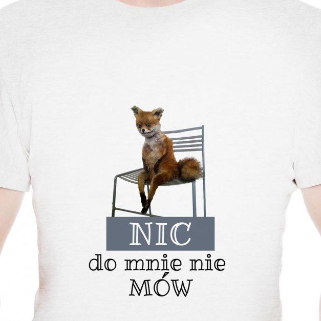 Koszulka Męska z Twoim Nadrukiem LISEK