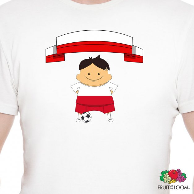 Koszulka Męska z Twoim Nadrukiem MISTRZUNIO