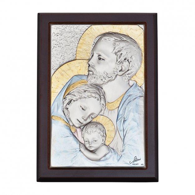 Obrazek Święta Rodzina Prezent Chrzest GRAWER