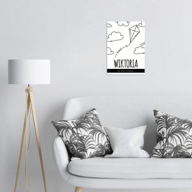 Plakat metalowy Znaczenie Imienia M