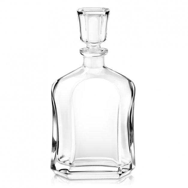 Karafka szklana z grawerem dla gentlemana na urodziny