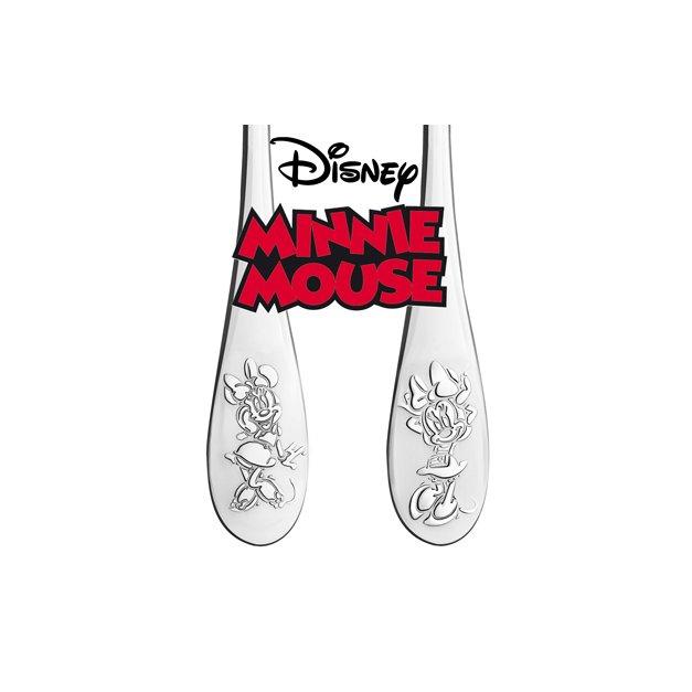Zestaw Sztućców Dla Dzieci W Drewnianym Etui Nadruk Choineczka Disney Mouse Myszka Minnie