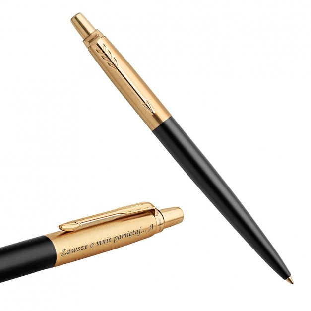 Długopis Parker Jotter Luxury Bond Street Black GT