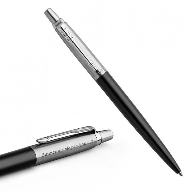 Długopis Parker Jotter Core Bond Czarny CT GRAWER