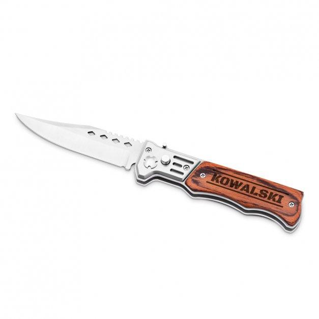 Personalizowany Nóż Sprężynowy dla Niego