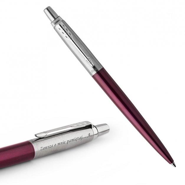 Długopis Parker Jotter Core Portobello Purpurowy CT