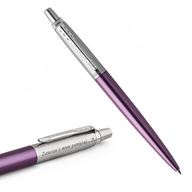 Długopis Parker Jotter Core Victoria Fioletowy CT