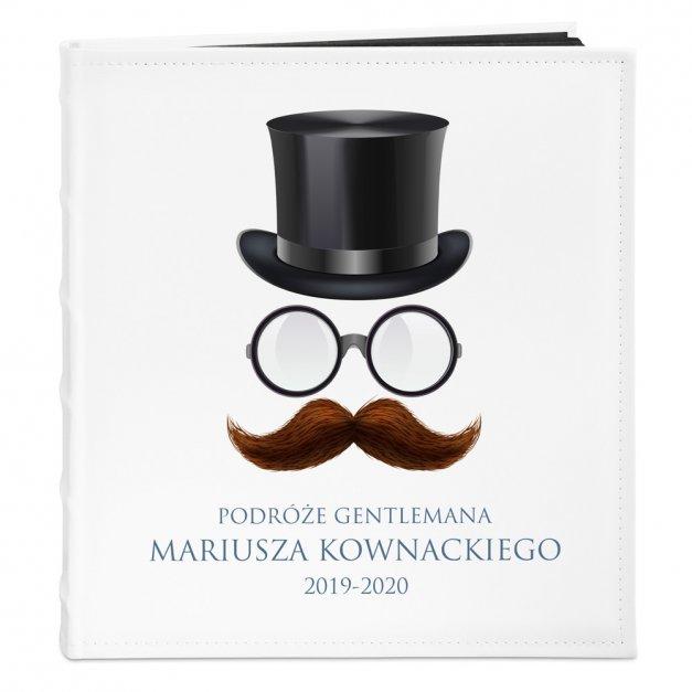 Album Na Zdjęcia Duży Podróże Gentlemana Nadruk