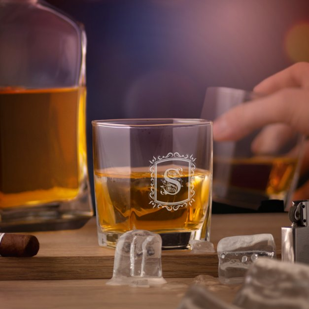 Szklanka do Whisky Grawer The World Is Yours