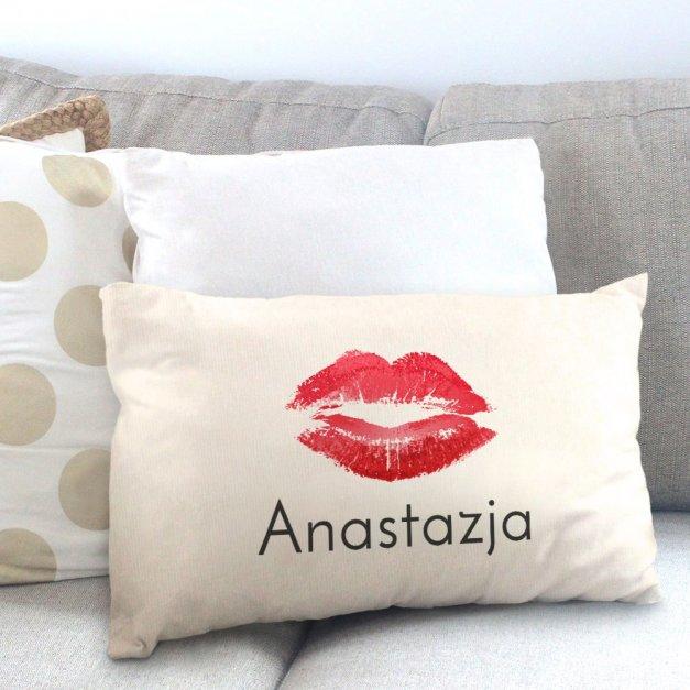 Poduszka personalizowana z nadrukiem USTA