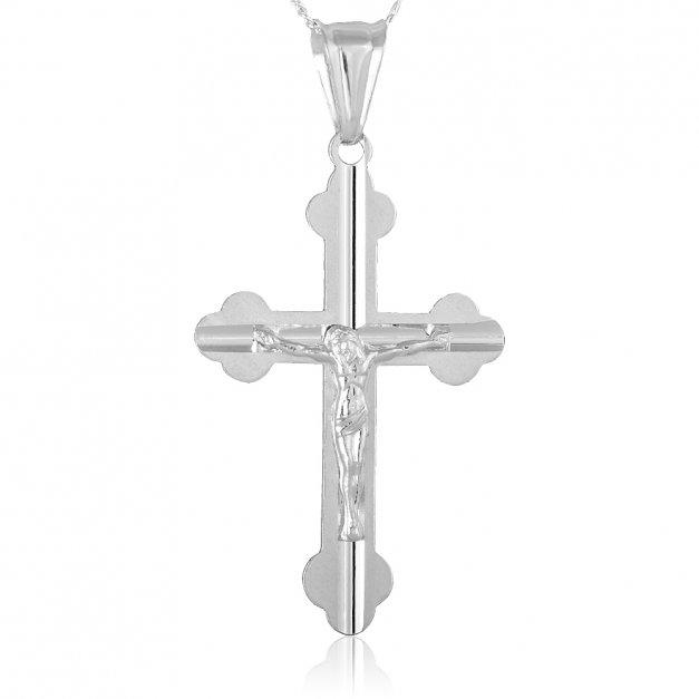 Krzyżyk z Łańcuszkiem Prezent Na Chrzest YN35