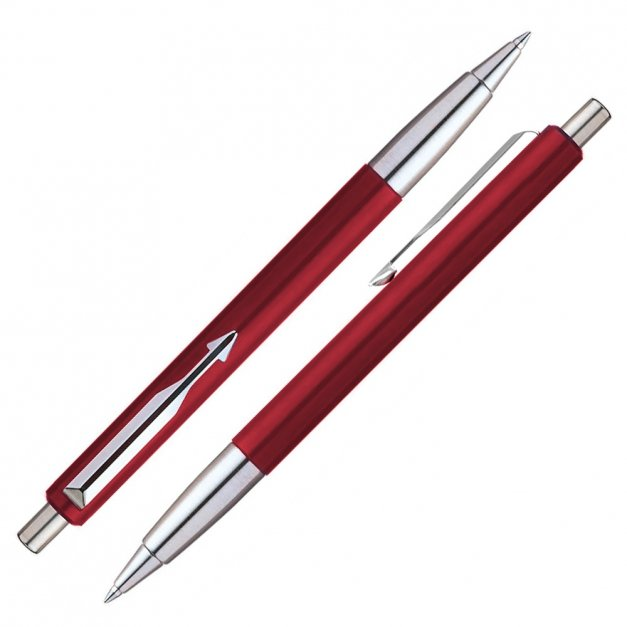 Długopis Parker Vector Czerwony GRAWER i ETUI