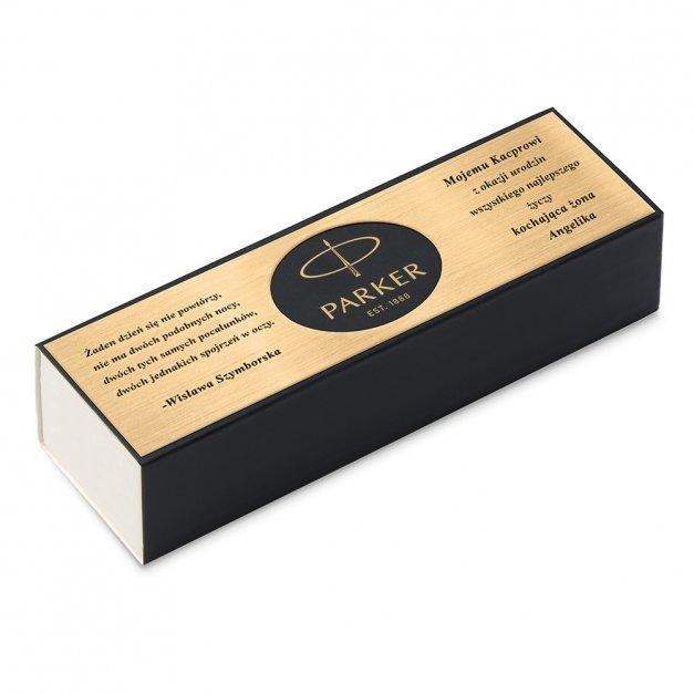 Długopis Parker IM Premium Dark Espresso CT GRAWER