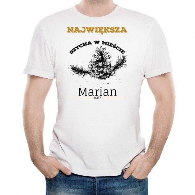 Koszulka Męska z Twoim Nadrukiem SZYCHA